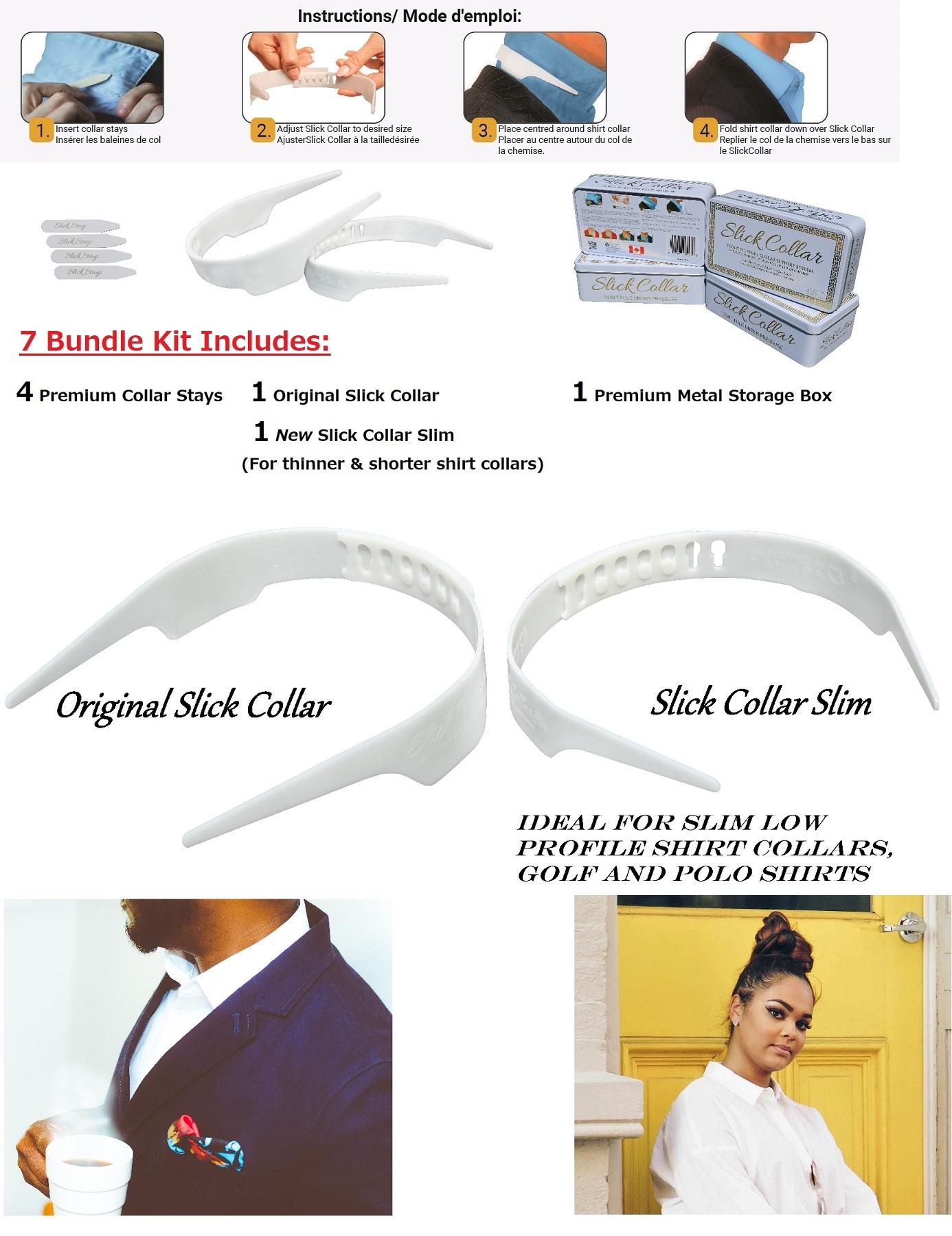 Original Best Adjustable Shirt Collar Support
