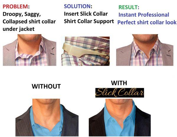 Slick Collar Perfect Shirt Collar Result