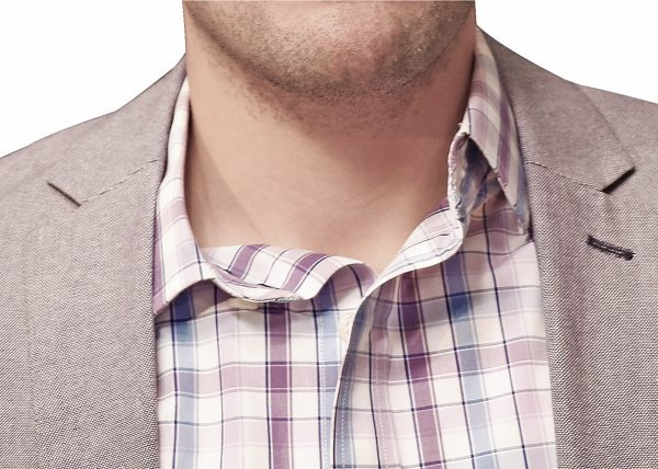 Sloppy Shirt Collar